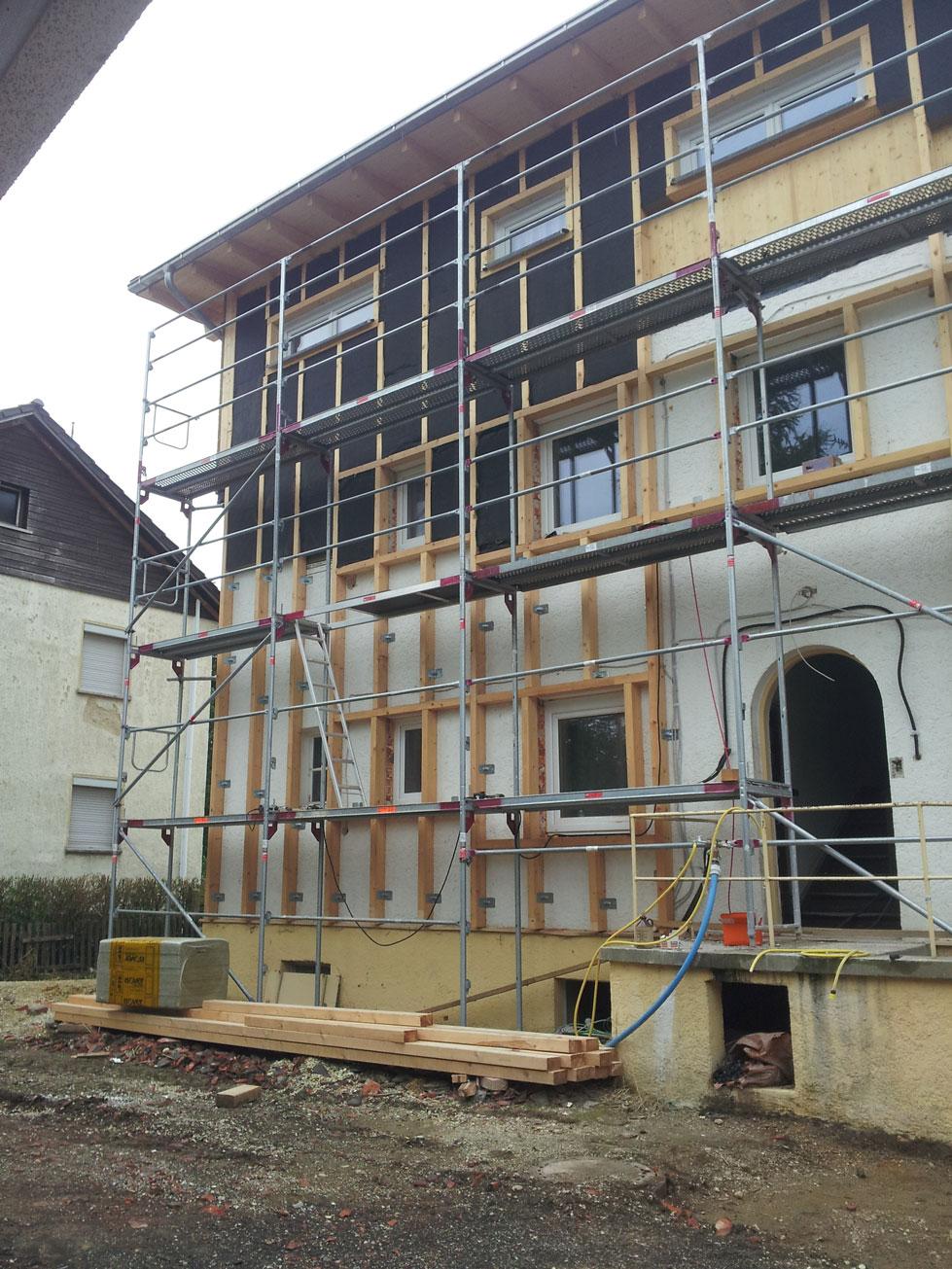 Fassadenverkleidung Holzbau Rehm Alexander